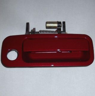 Find Toyota Camry 1997-2001 Sunfire Red 3K4 Passenger Door Handle Right FREE BOLTS motorcycle in Jacksonville, Florida, US, for US $23.74