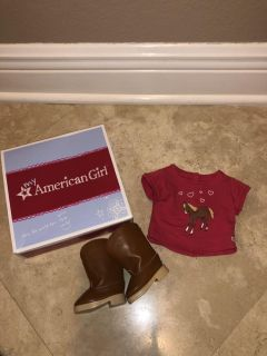 Western riding outfit American girl