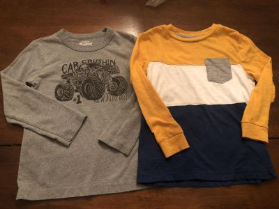 Size 5 tees