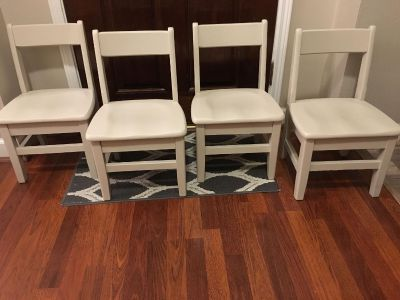 Toddler Chairs Solid Wood just refinished