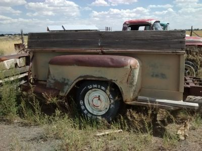 1955-1959 Chevy 3/4 Ton Pickup Truck Bed Trailer - OEM Parts