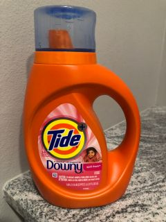 Tide laundry detergent with Downy - 24 loads