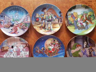 Disney Collectable Plates