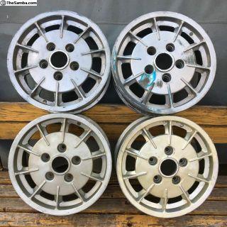 Mahle Magnesium Alloy Gas Burner Porsche Wheels