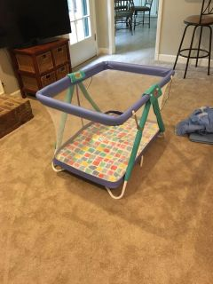 Playpen and Bassinet