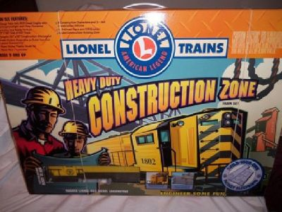 Lionel O-O27 Heavy Duty Construction Zone Train Set