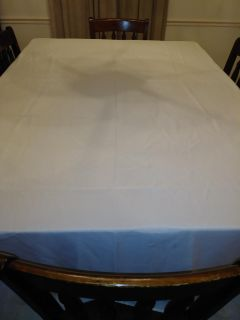 Ivory Table Clothes
