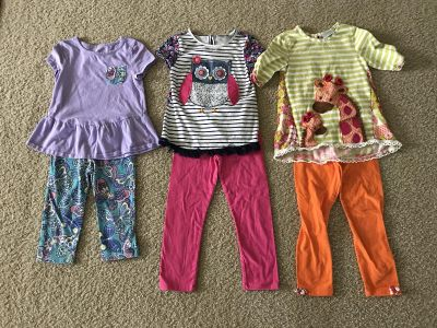 Girls Outfits - Size 5