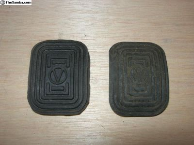 Pedal rubber pads