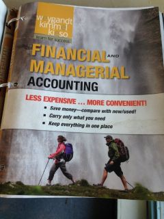ACCT2301 Financial & Managerial Account Central Texas/Park University