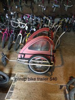 Instep bike trailer