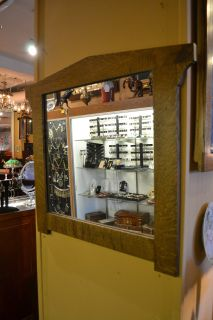 Arts and Crafts Mission Oak Mirror