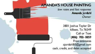 HOUSE PAINTING GET YOUR HOME READY FOR THE HOLIDAYS (k cc hh b n t)