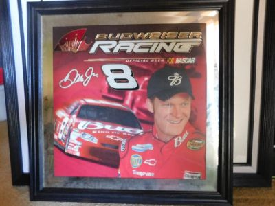 Dale Earnhardt Jr. #8 Mirrored Picture