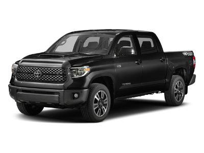 2018 Toyota Tundra 4WD SR5 5.5` Bed 5.7L (Midnight Black Metallic)