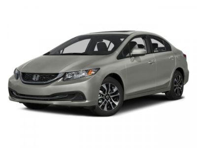 2015 Honda Civic EX (Alabaster Silver Metallic)