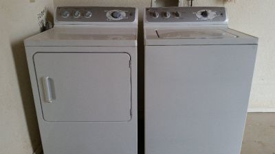 GE Wsher and dryer