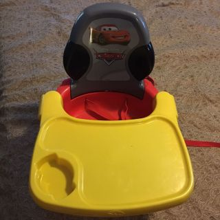 Disney Cars booster seat only used a couple times excellent condition 7.00