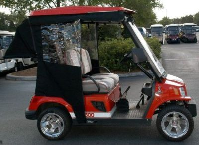 Find TOMBERLINE EMERGE GOLF CART CUSTOM FIT ENCLOSURE TRACK STYLE W/O BAG COVER motorcycle in North Little Rock, Arkansas, United States, for US $439.00