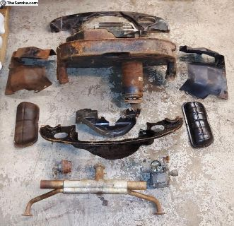 Volkswagen Air-Cooled Dual Port 1600 Engine Parts