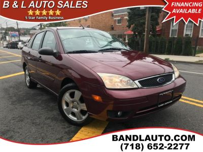 2007 Ford Focus ZX4 S (Dark Toreador Red Metallic)