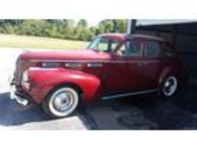 1940 Cadillac LaSalle Series 52 Sedan