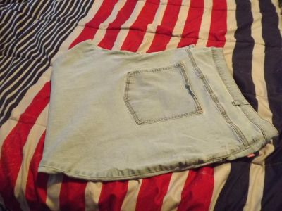Woman Within size 38WP stretch jeans