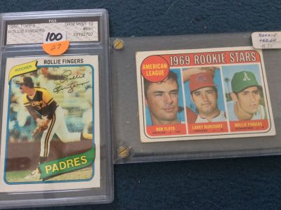 Cards: Rollie Fingers ROOKIE +