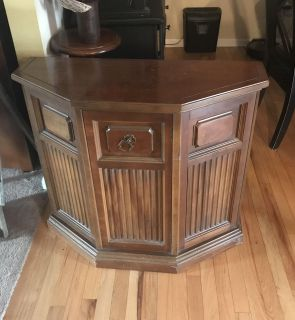 Small cabinet or foyer table