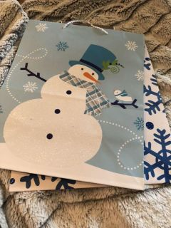Two new hallmark gift bags