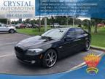 Used 2011 BMW 5 Series Jet Black, 93.9K miles