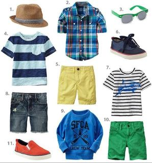 ISO boys summer clothes and shoes