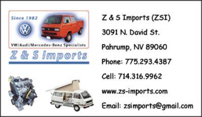 VW Auto Parts Inventory Liquidation