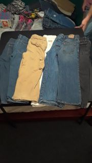 7 pairs of boys jeans