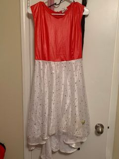 Pok mon Dress Red and White