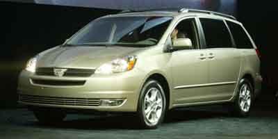 2004 Toyota Sienna XLE 7 Passenger (Tan)