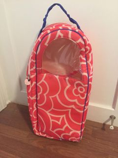 Target brand carry-on backpack for 18 doll