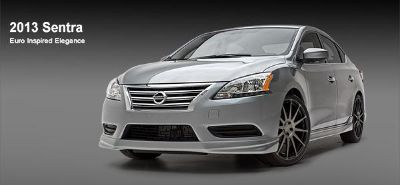 Find NISSAN SENTRA UNPAINTED Ground Effects 4 Piece Kit 692047 Trim 2013 motorcycle in Cleveland, Ohio, US, for US $736.73