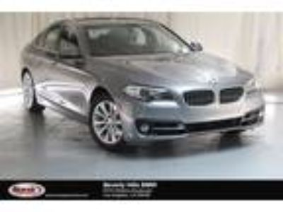 Used 2016 BMW 5 Series Gray, 16.1K miles