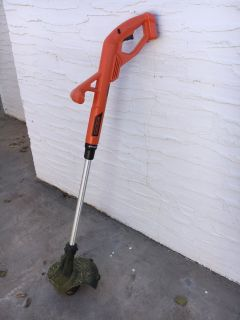 Cordless Black and Decker weed eater