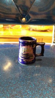 New Orleans souvenir mini beer mug/stein shot glass. Ave online price w/shipping is $8.00. Asking $5.00.