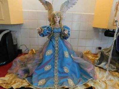 "Franklin Mint - House of Fabrege - Angel of Hope!!! 28"" Tall"