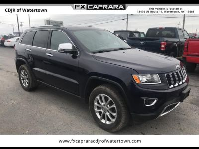 2014 Jeep Grand Cherokee Limited (True Blue Pearlcoat)