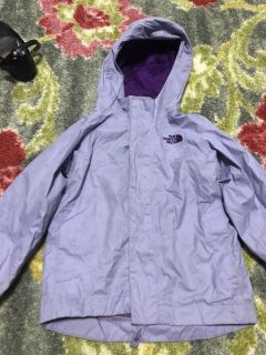 North Face Size 3T Rain Jacket
