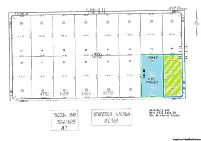 4.22 Acres Newberry Springs on Derwent near Ft Cady Road