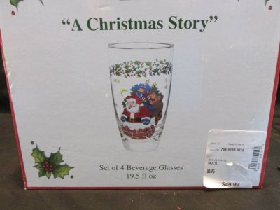 NEW IN BOX CHRISTMAS GLASSES