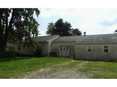 3 Bed 1 Bath Foreclosure Property in Sharpsville, IN 46068 - W 375 N