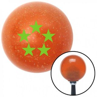 Buy Grn Officer 11 - General of Air Force Orange Metal Flake Shift Knob 16mm x 1.5 motorcycle in Portland, Oregon, United States, for US $29.97