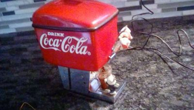 RARE Enesco COKE music box