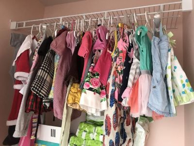 Mostly 12 month clothes